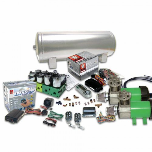 Helix Dual Compressor 8 Preset Digital Air Suspension Controller Kit with Alarm and Remotes (No Bags) instructions, warranty, rebate