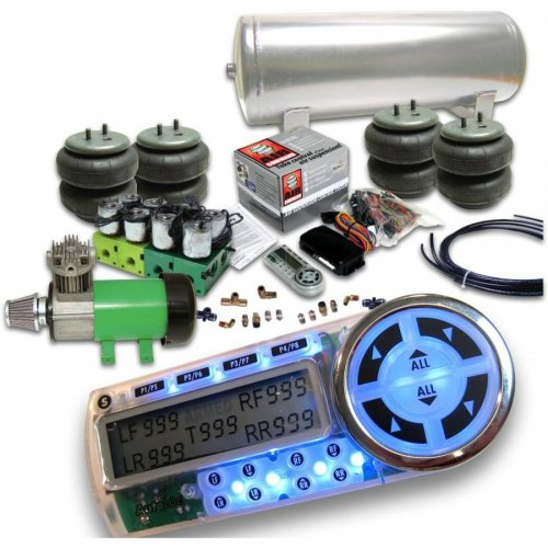 Helix Advance Air Bag Suspension System with Digital 4 Preset AirCommand Controller instructions, warranty, rebate