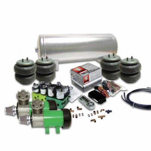 Helix Delux 2 Compressor Air Bag Suspension System with Digital 2 Preset AirCommand Controller instructions, warranty, rebate