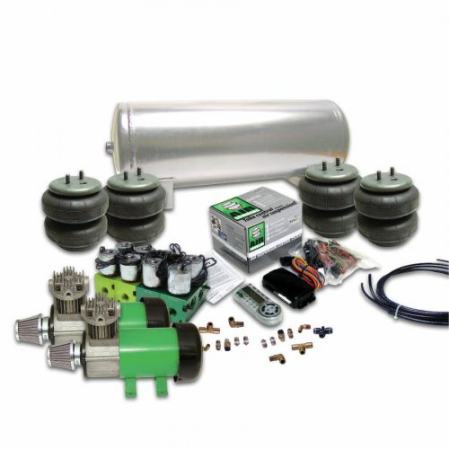 Helix Delux 2 Compressor Air Bag Suspension System with Digital 4 Preset AirCommand Controller instructions, warranty, rebate