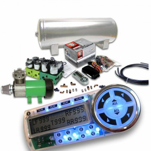 Helix 8 Preset Digital Air Suspension Controller Kit (No Bags) instructions, warranty, rebate