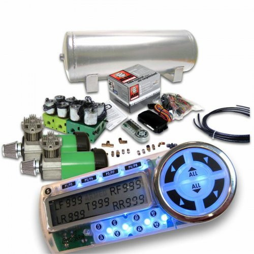 Helix Dual Compressor 4 Preset Digital Air Suspension Controller Kit  (No Bags) instructions, warranty, rebate