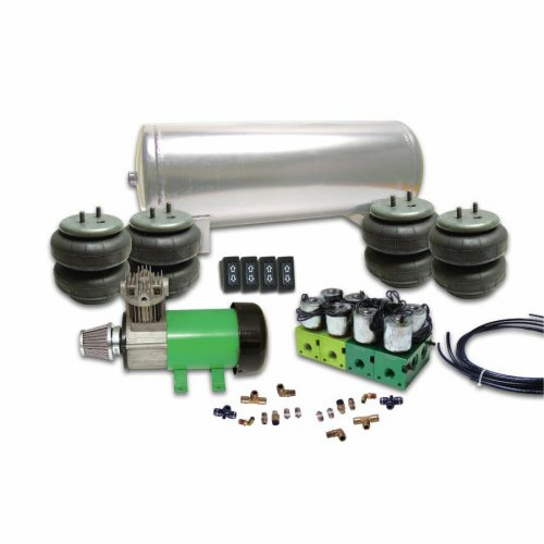 Helix 4 Switch Air Bag Suspension System instructions, warranty, rebate