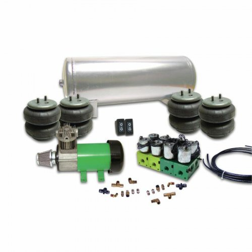 Helix 2 Switch Air Bag Suspension System instructions, warranty, rebate