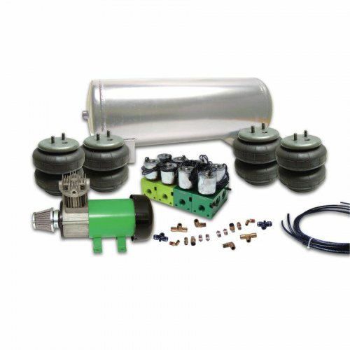 Helix 8 Valve Air Bag Suspension System (No Bags) instructions, warranty, rebate