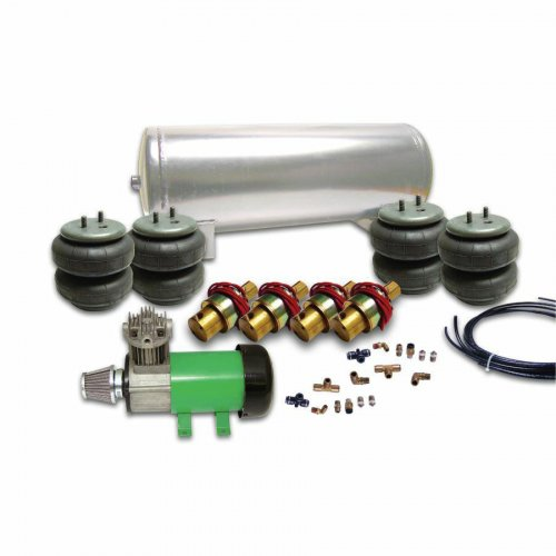 Helix 4 Valve Air Bag Suspension System instructions, warranty, rebate