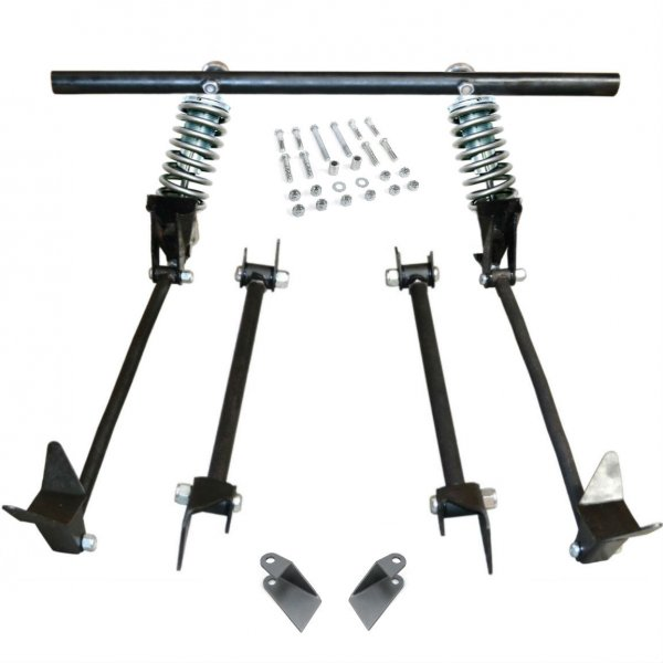 Triangulated Rear 4 Link W Coilovers 28 1928 Model A
