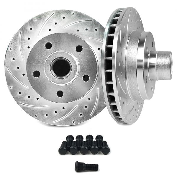 60 87 Chevy C10 Truck Disc Brake Conversion Rotor 5x5